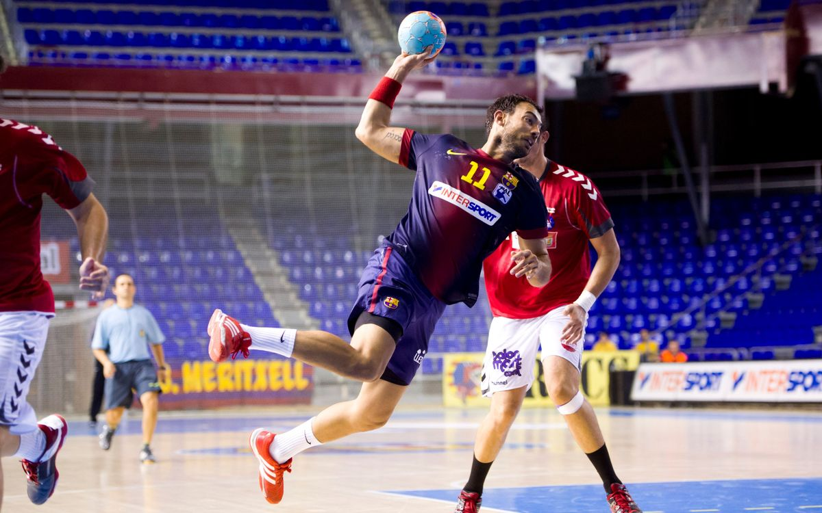 Academia Octavio - FCB Intersport: Another league victory (26-38)