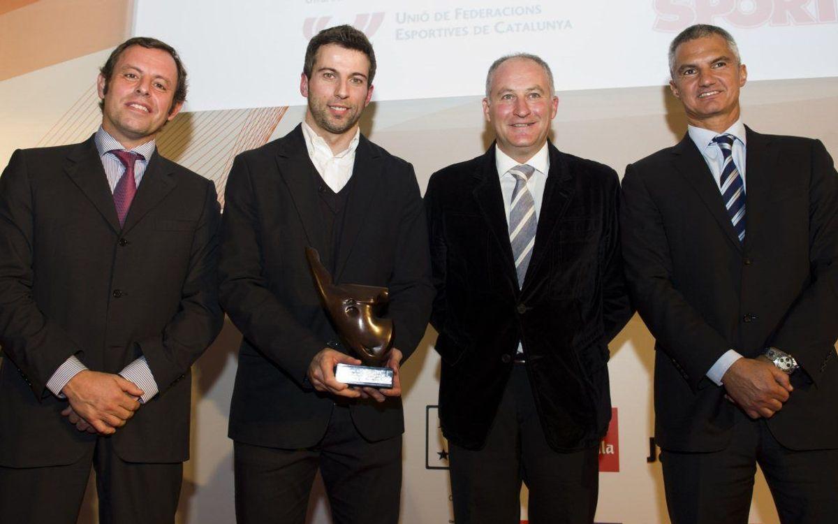 バルサ・アルスポルト、2012年のカタルーニャスポーツチーム賞受賞