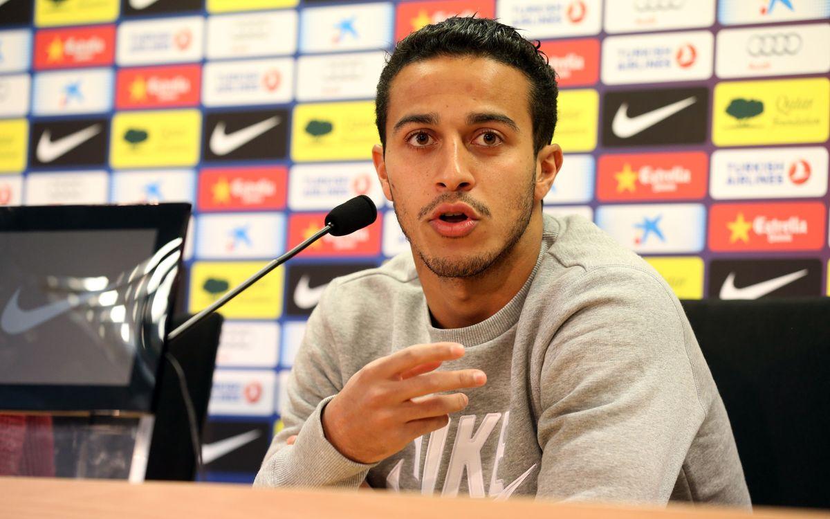 """Thiago: """"Terminer l'année avec la même confiance"""""""