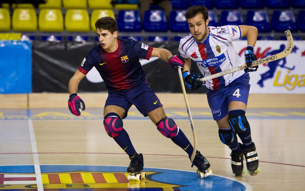 El Barça B supera l'FM Oviedo per un ajustat 1-2