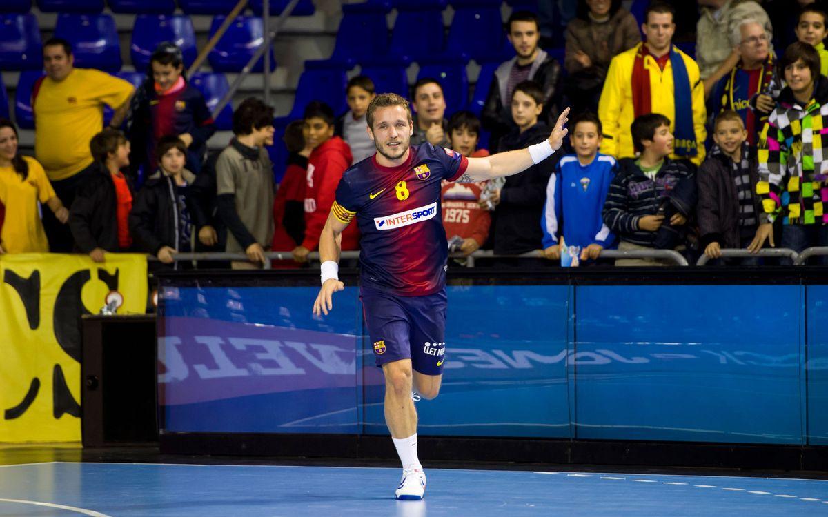 El balanç del Barça Intersport, als dos terços de la Lliga Asobal