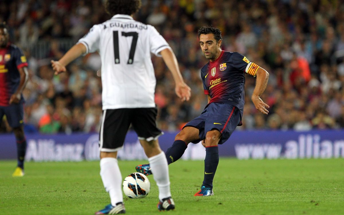 Xavi Hernández, the man of a thousand passes