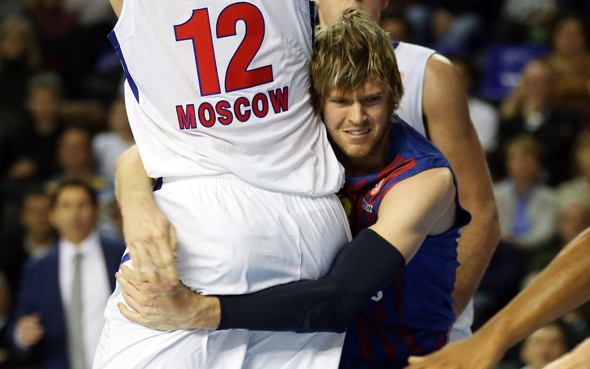 FCB Regal-CSKA Moscow: Leaders despite defeat (75-78)