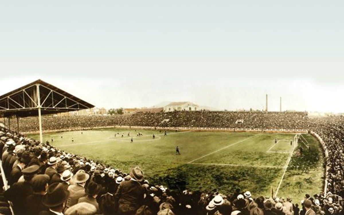 91 years since foundation laid for Les Corts Stadium