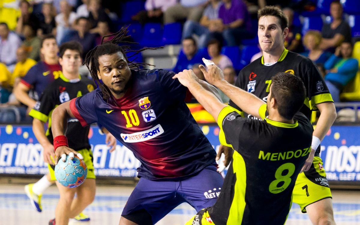 Nou jugadors del FC Barcelona Intersport disputaran el Mundial d'handbol 2013