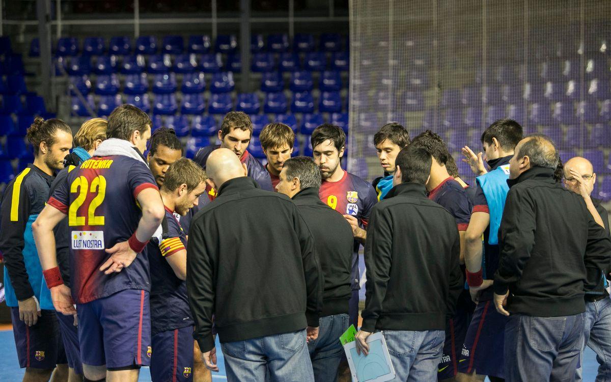 El FC Barcelona Intersport, líder en solitari de l'Asobal