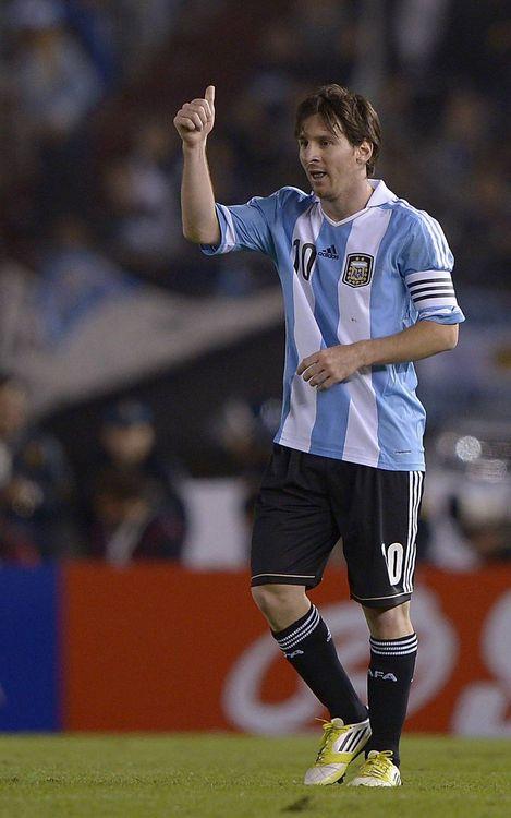 Leo Messi eyes Maradona's mark of 34 goals with Argentina