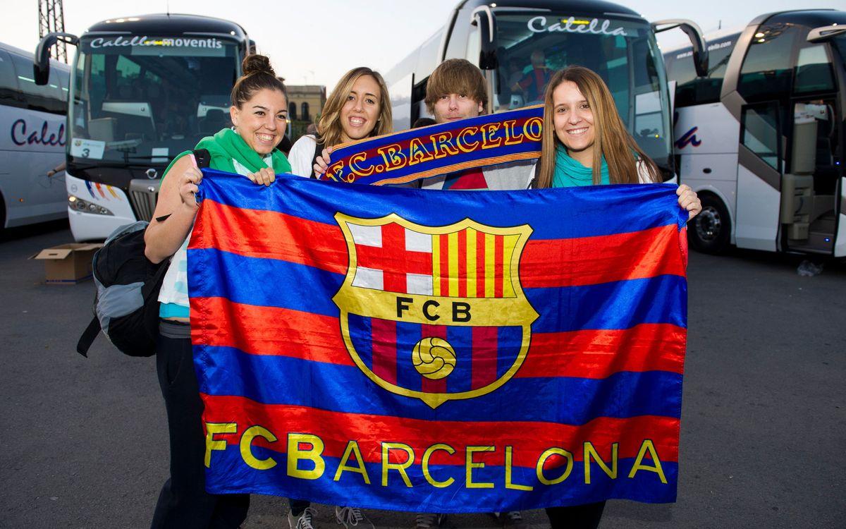 El Barça dóna suport als desplaçaments en cotxe compartit