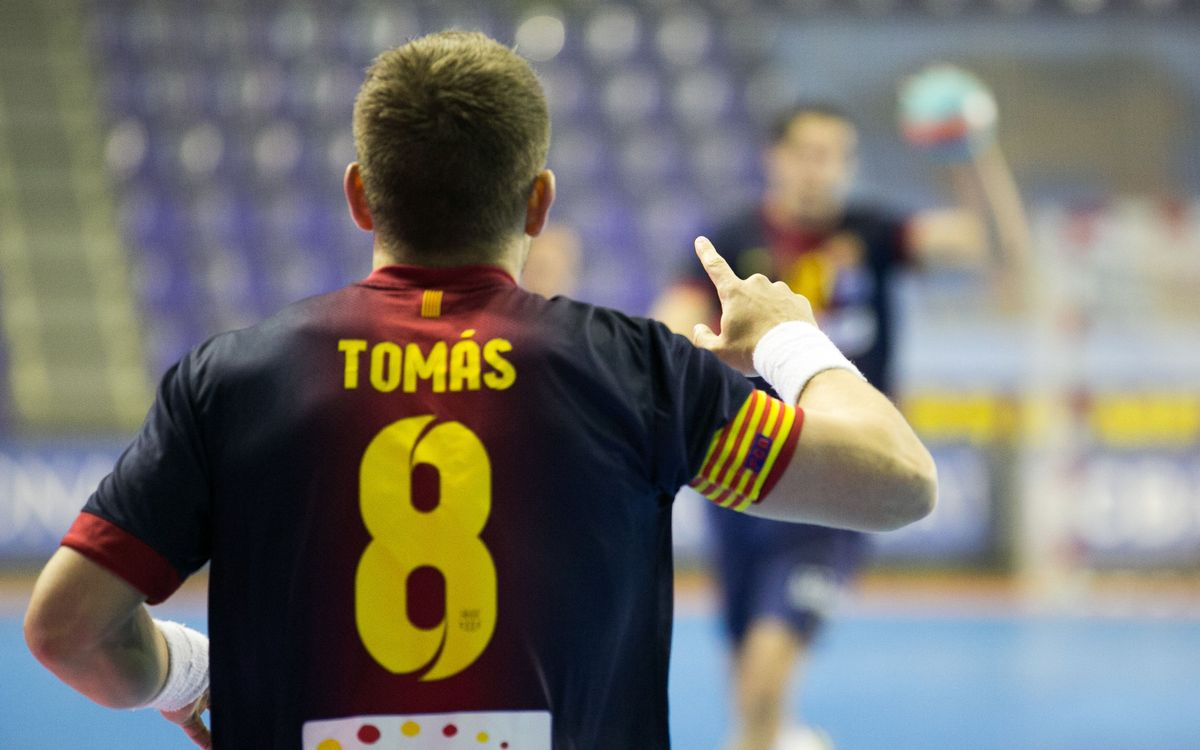 Barça Intersport v Naturhouse La Rioja: Yet another recital from the leader (35-20)