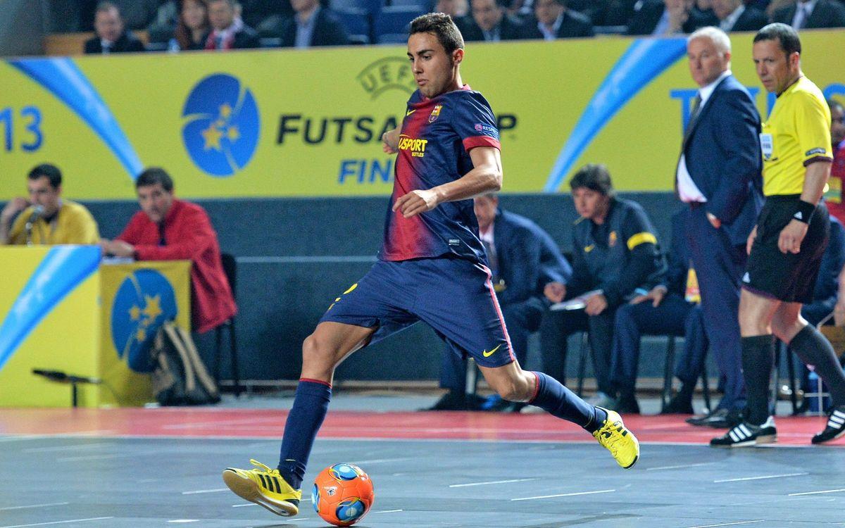 El Barça Alusport jugarà pel tercer i quart lloc davant l'Iberia Star local