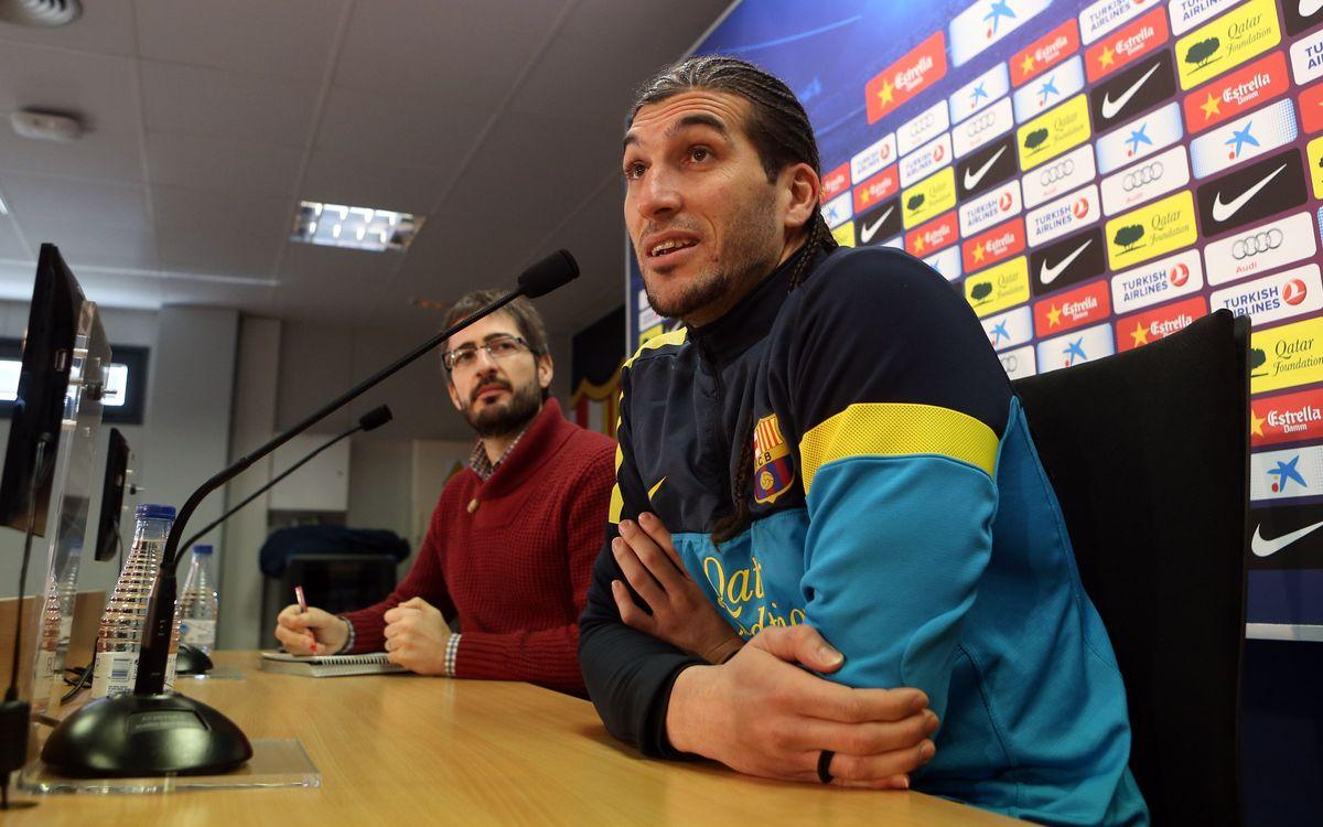 "José Manuel Pinto: ""Le match contre Cordoba sera compliqué"""
