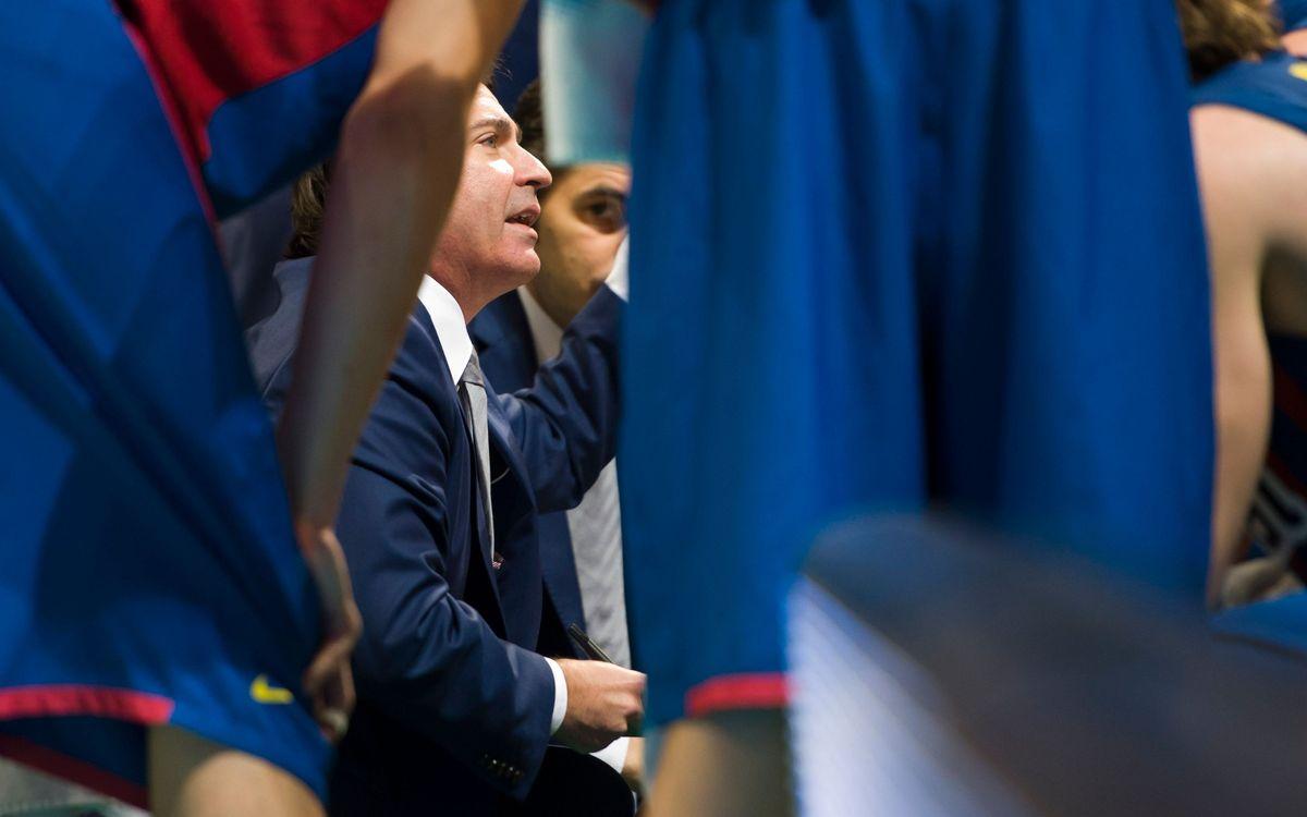 """Xavi Pascual: """"Hem estat francament bé a nivell defensiu"""""""