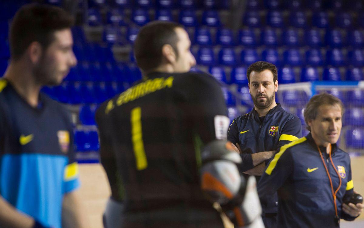 """Ricard Muñoz admet que """"hi ha hagut una progressió en el joc, però no és cap dinàmica"""""""