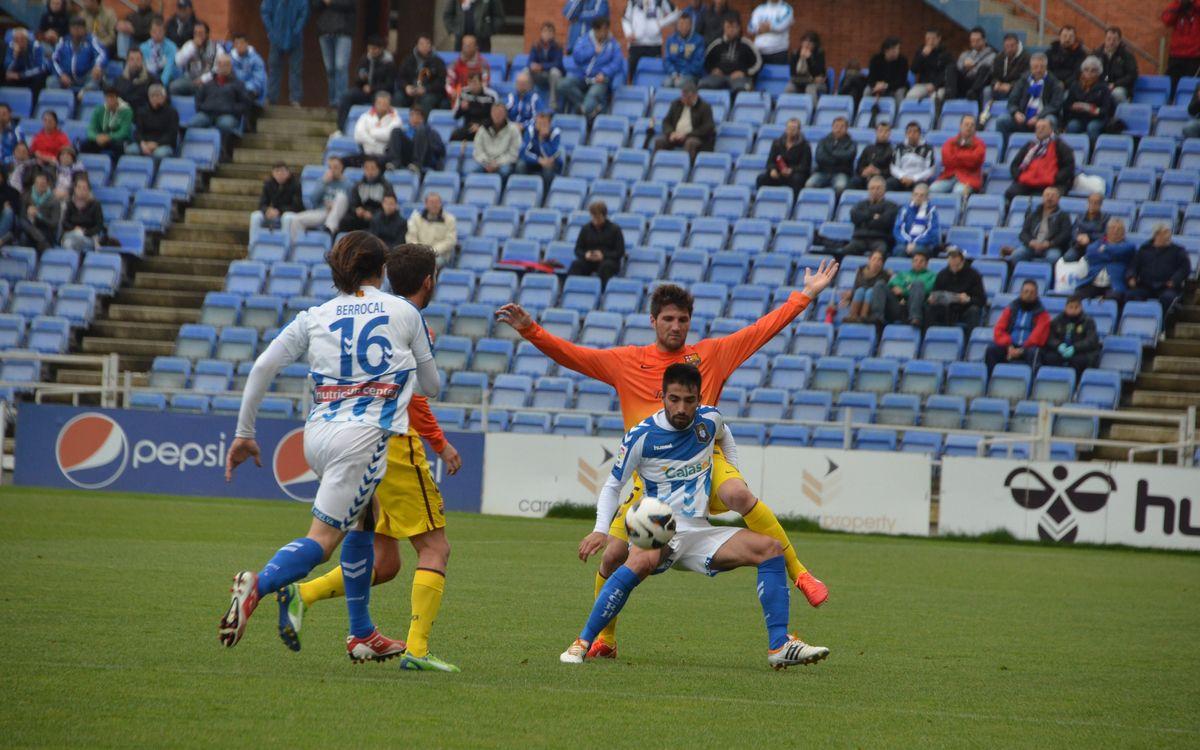 Recreativo - Barça B: Third consecutive defeat (2-0)