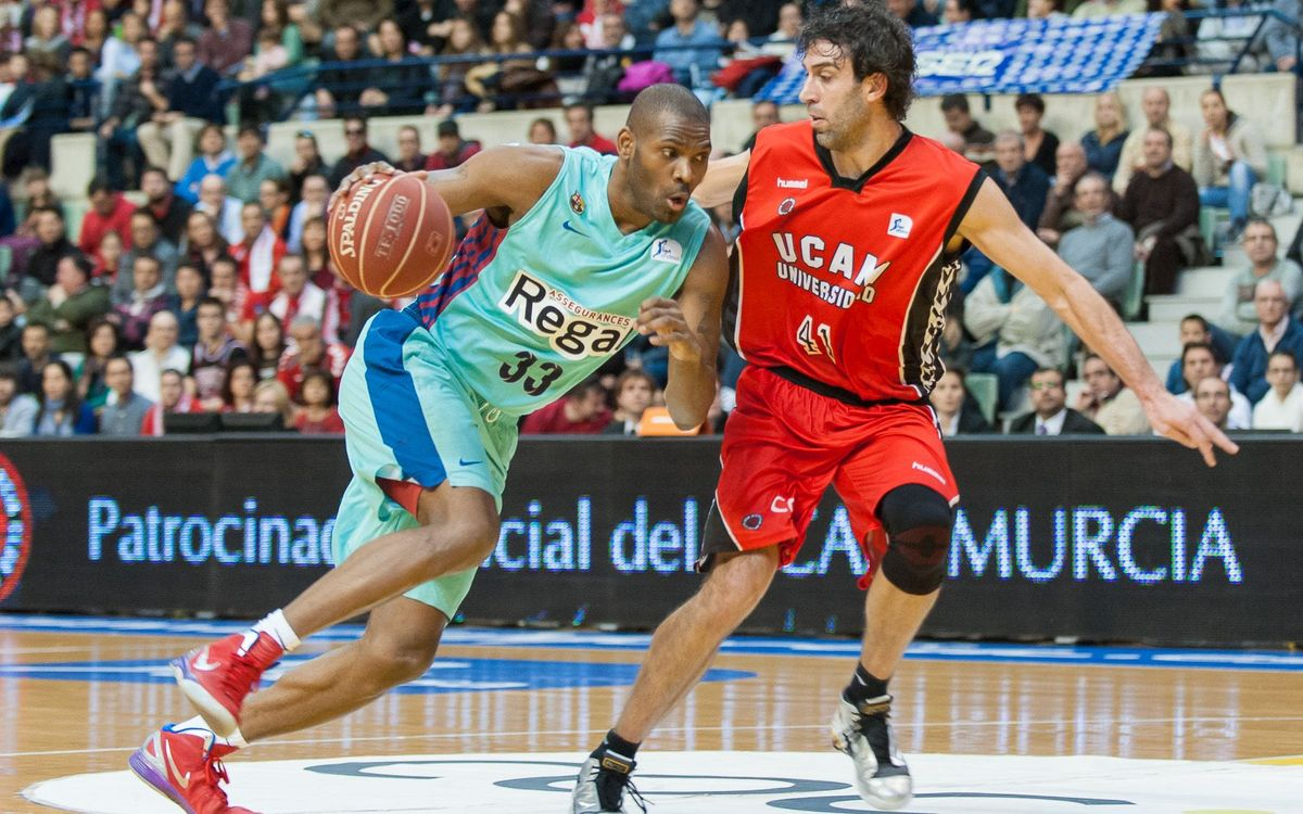 UCAM Murcia-FCB Regal: The Blaugrana extend their winning streak (62-79)