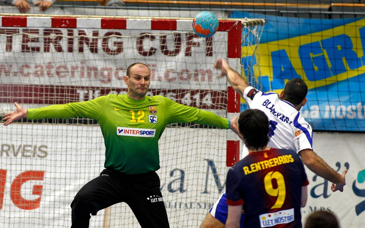 Fraikin BM Granollers – FCB Intersport: Another derby for the Blaugrana (22-27)