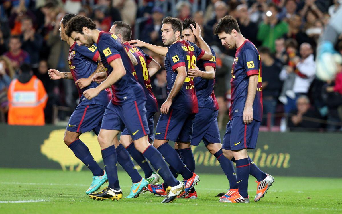 Best-ever start in Club history for Tito Vilanova's Barça
