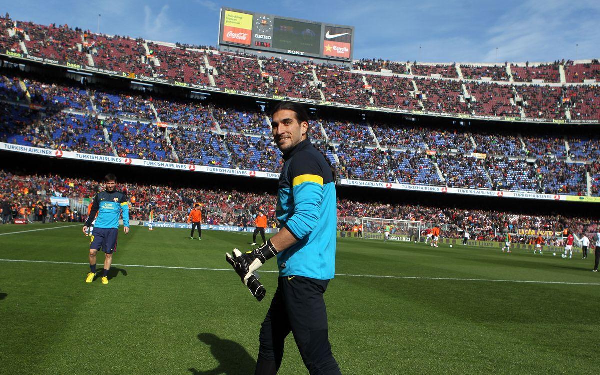 José Manuel Pinto's turn to shine