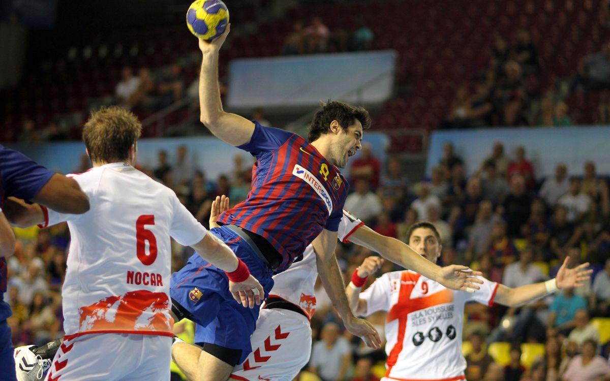 Duel de 'grans' de l'handbol al Palau Blaugrana
