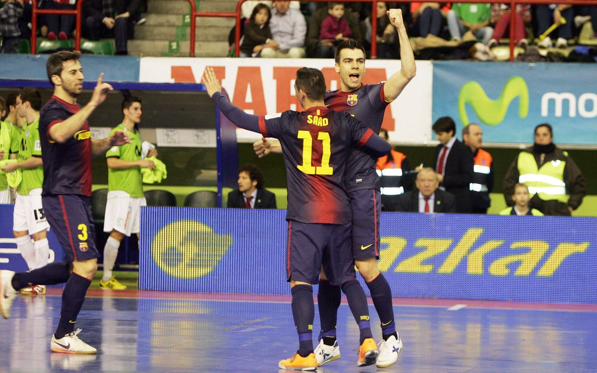 Inter Movistar - FCB Alusport: The Blaugrana extend their lead at the top (2-3)