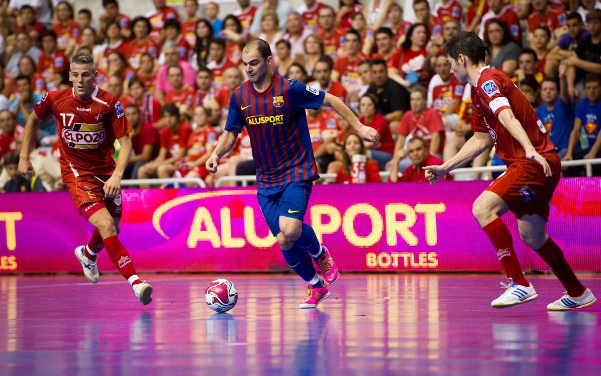 El Barça Alusport visita Múrcia amb més a guanyar que a perdre