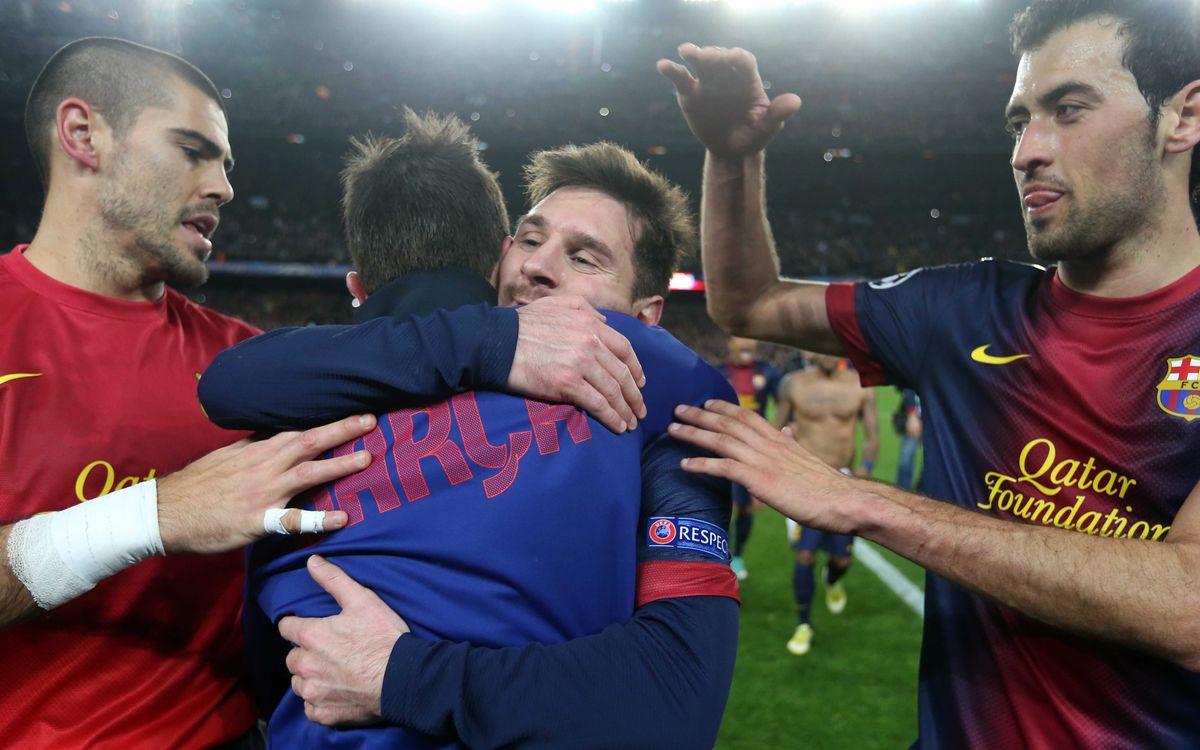 FC Barcelona - AC Milan: Magnificent comeback sends Barça into quarters (4-0)