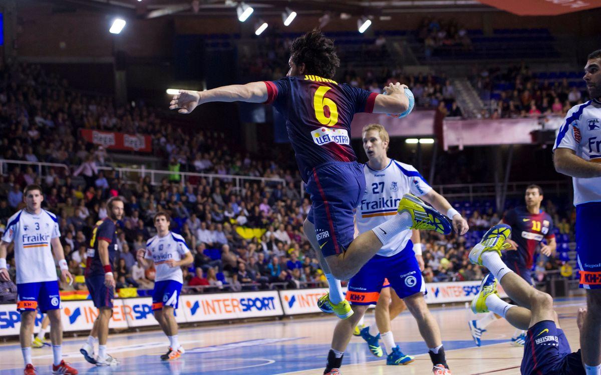 Saragossa, pista difícil per al FC Barcelona Intersport