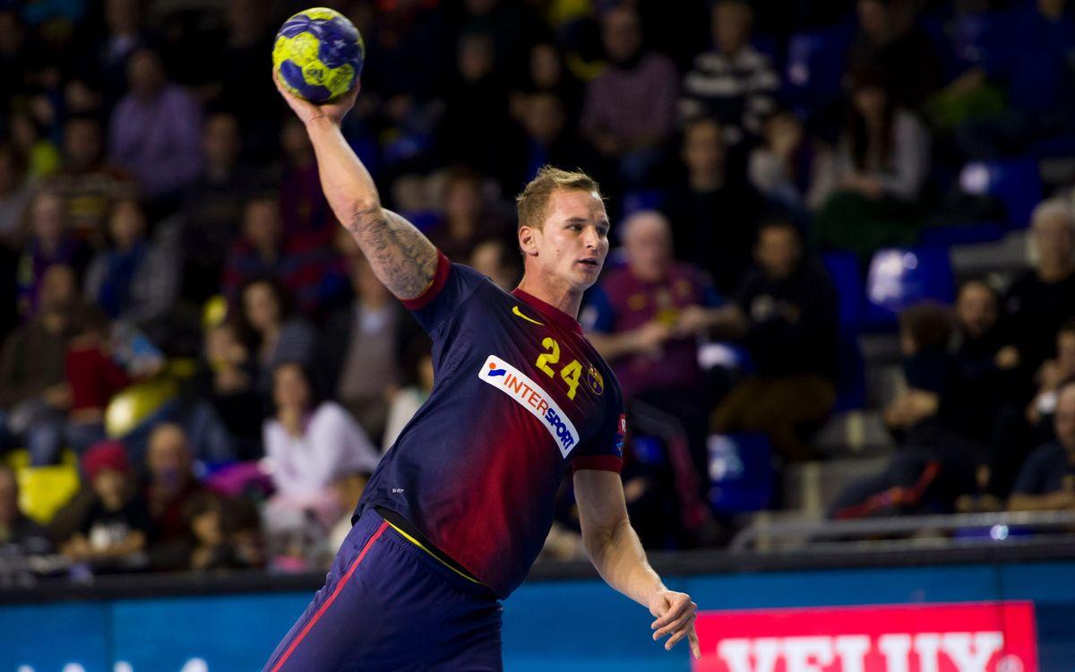 FC Barcelona Intersport: a dos punts dels liderat definitiu a la Champions