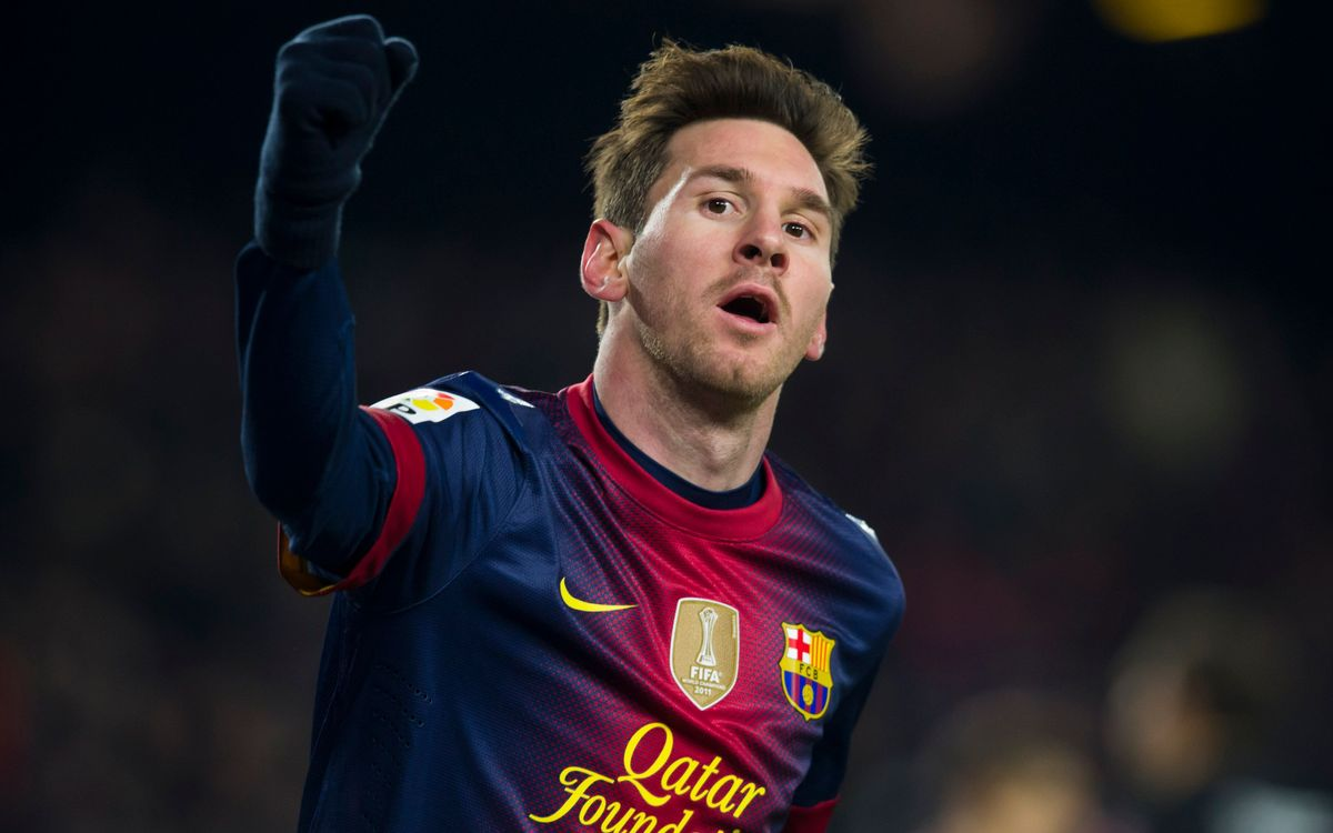 Leo Messi moves within striking distance of Gerd Müller's record