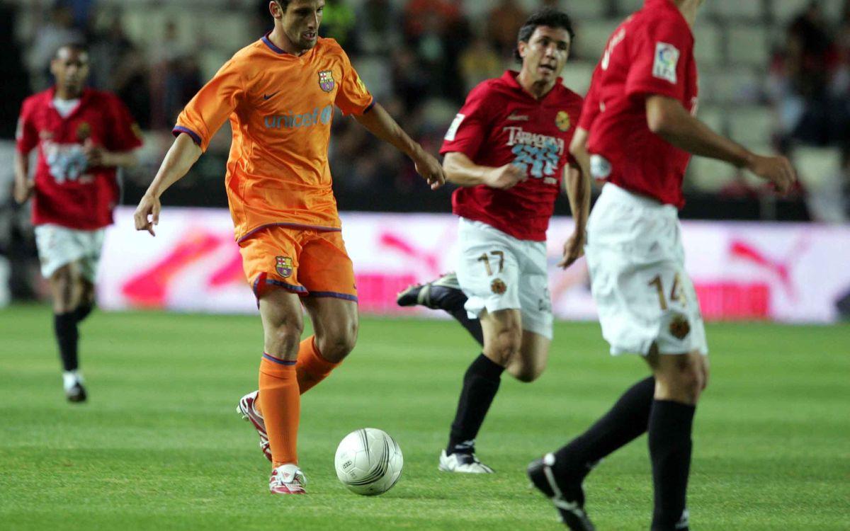 El Nàstic de Tarragona, el rival del Barça a les semifinals de la Copa Catalunya