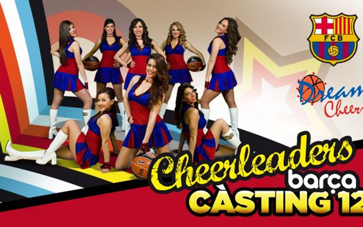 New casting for Barça cheerleaders