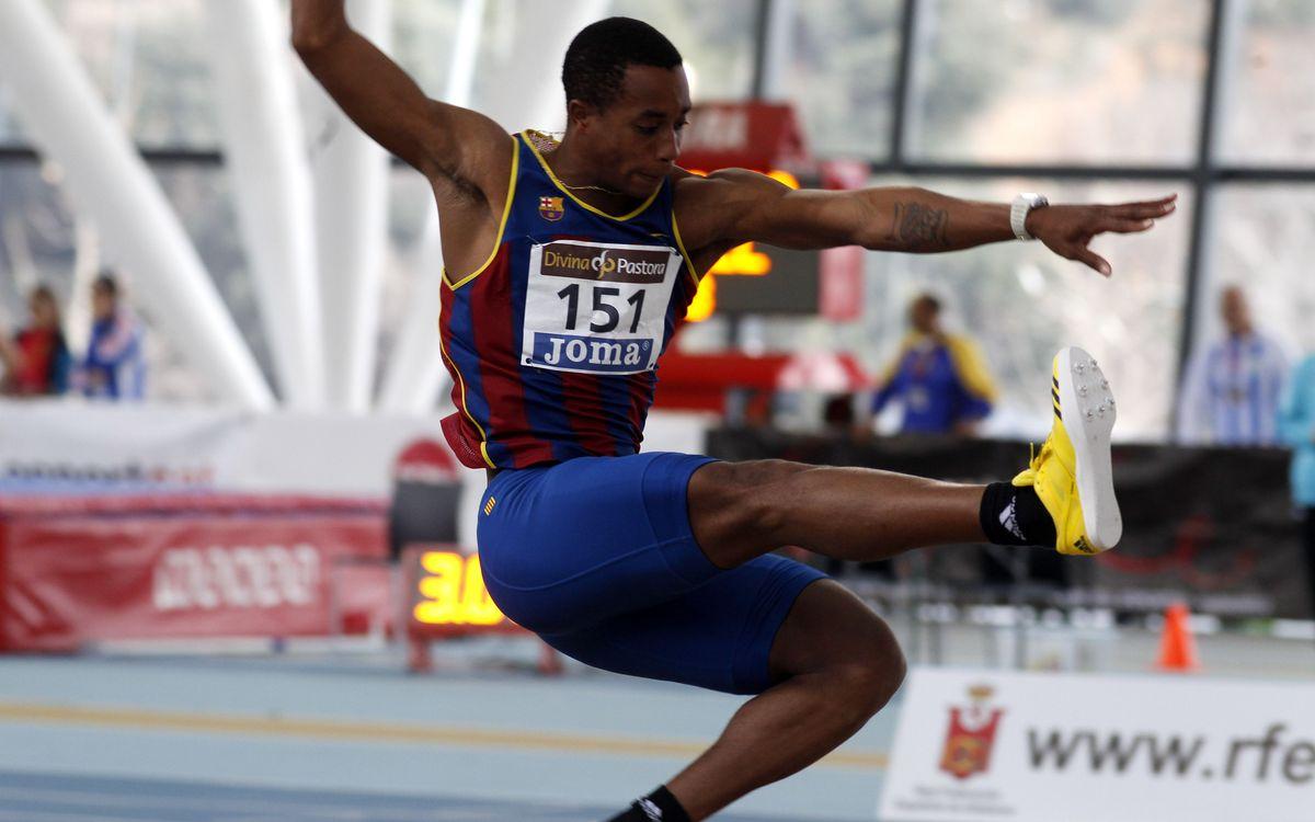 Ors blaugrana al Campionat d'Espanya d'atletisme en pista coberta
