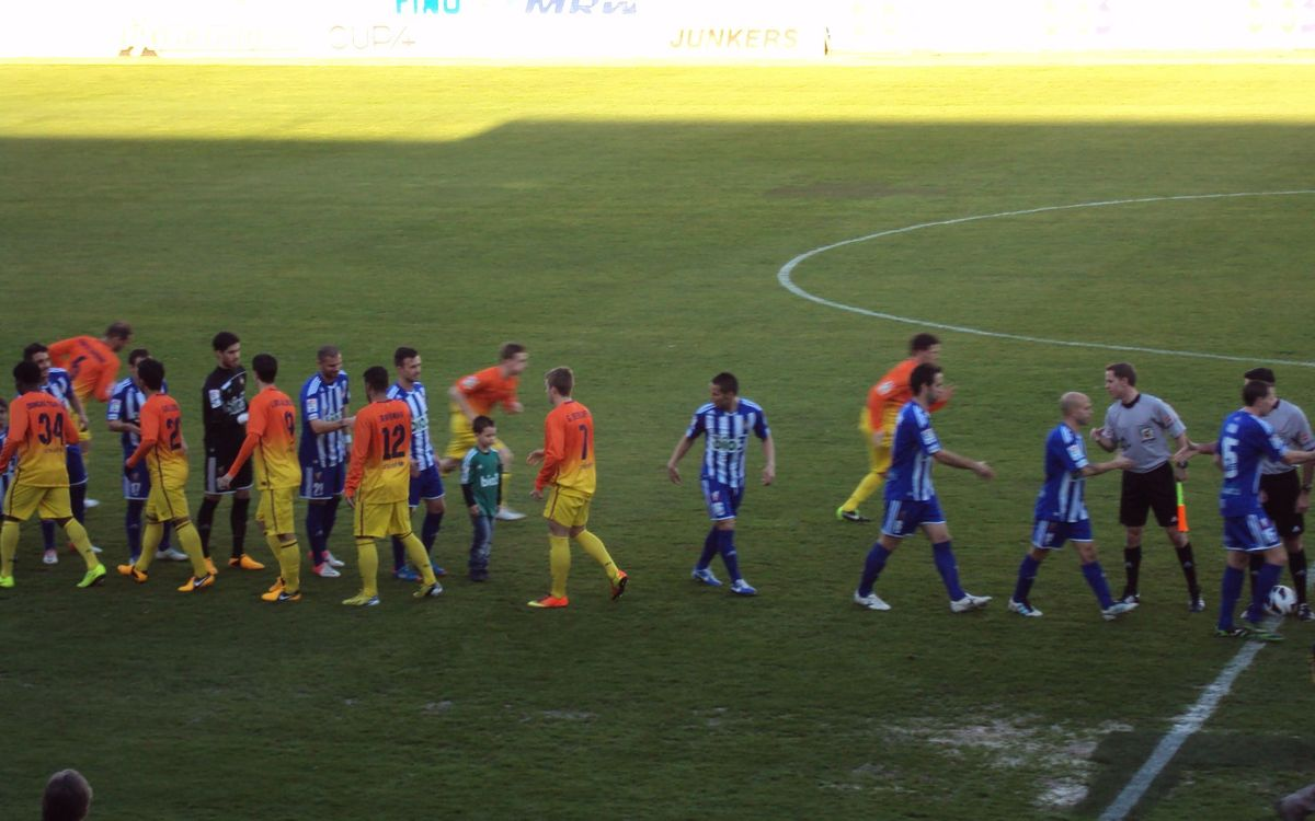 Ponferradina – Barça B: The reserve side lose at El Toralín (3-2)