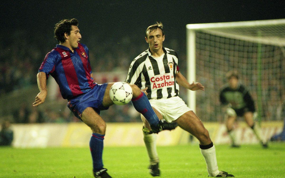 FC Barcelona Legends: Aitor 'Txiki' Begiristain