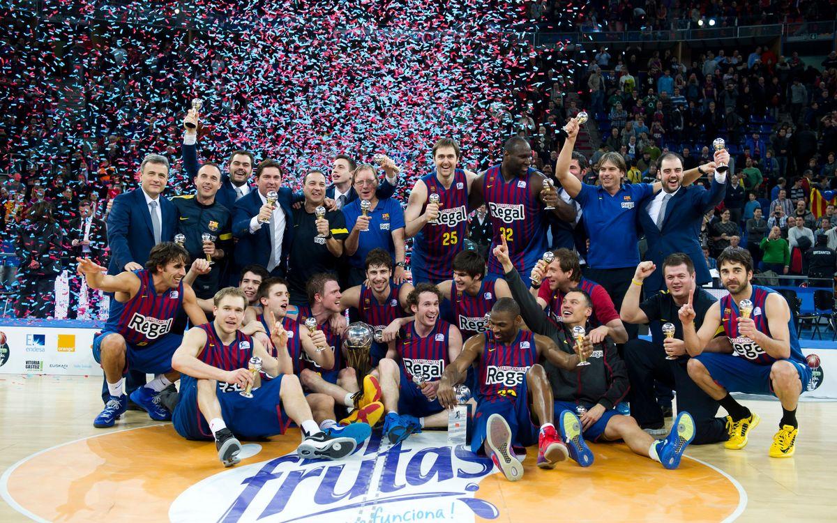 FCB Regal - Valencia Basket: Copa del Rey champions! (85-69)