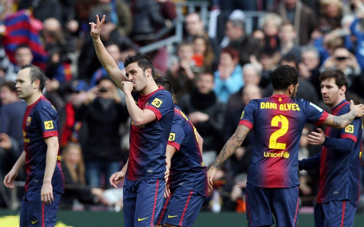 Les hommes clés de la rencontre : Alexis, Messi, Villa et Iniesta