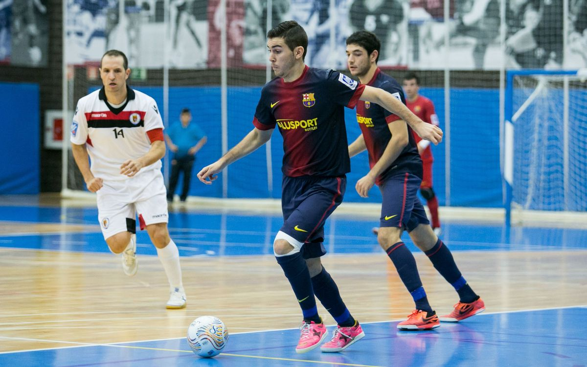 El Barça Alusport B cau a domicili davant el Carnicer Torrejón (5-0)