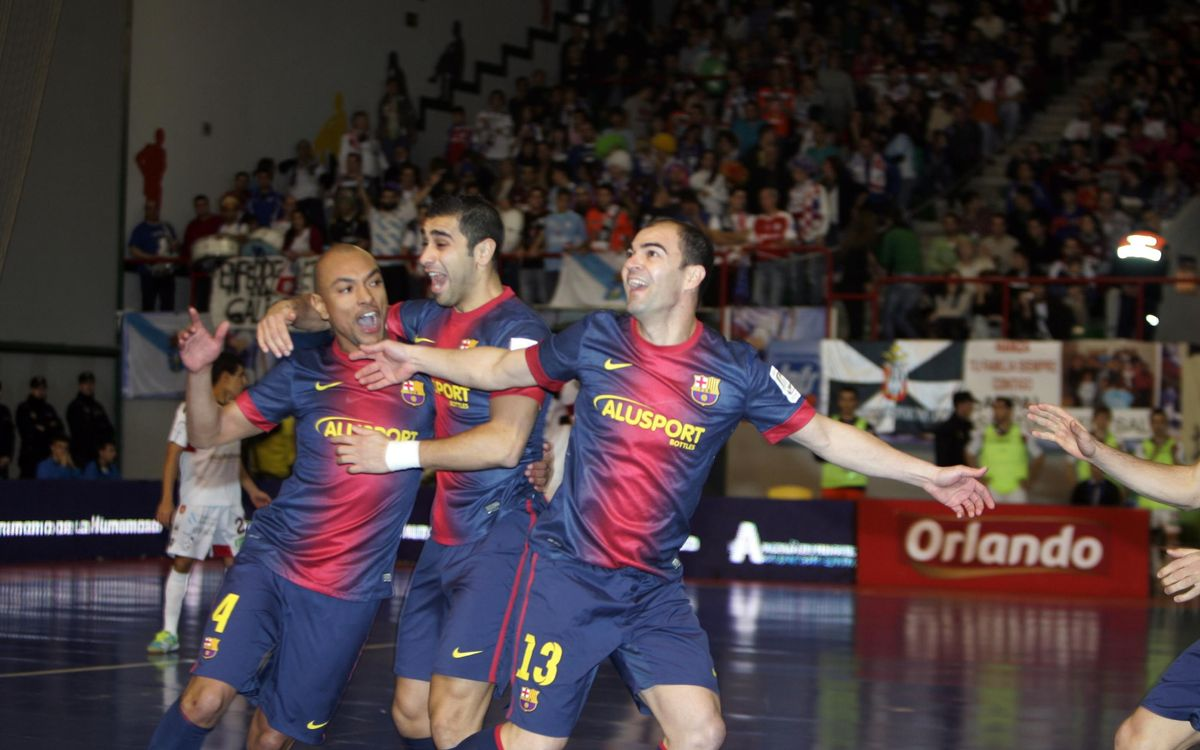 Santiago Futsal – Barça Alusport: To the Spanish Cup final! (2-5)