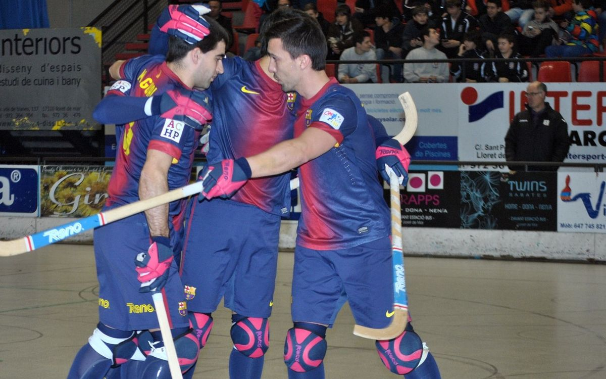 CH Lloret – FC Barcelona: Victory ahead of the Cup playoffs (2-3)