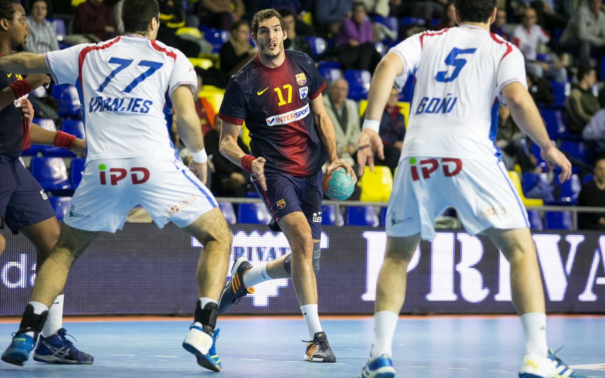 Barça Intersport - Reale Ademar: The leaders maintain course (33-19)