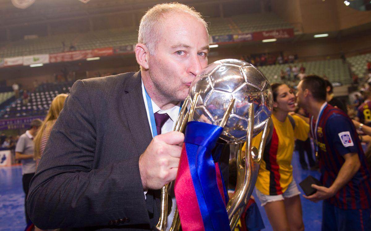 Carmona, millor entrenador del món al 2012