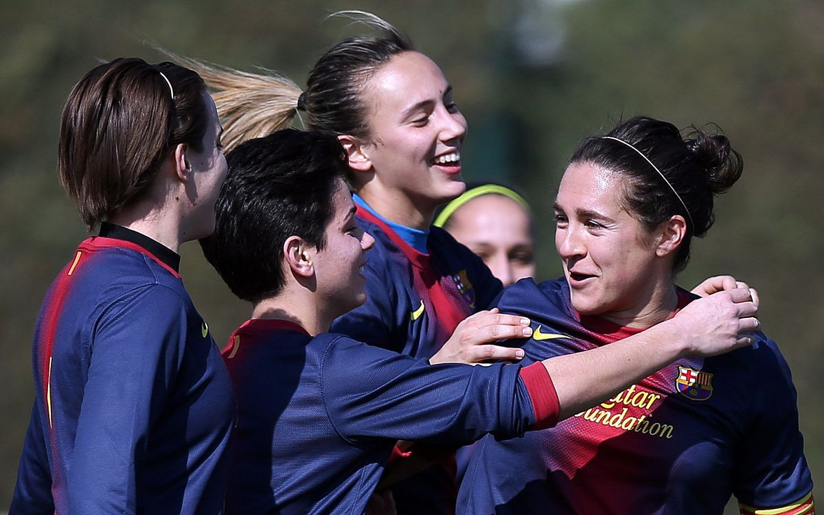 Spectacular play from FC Barcelona's women's team