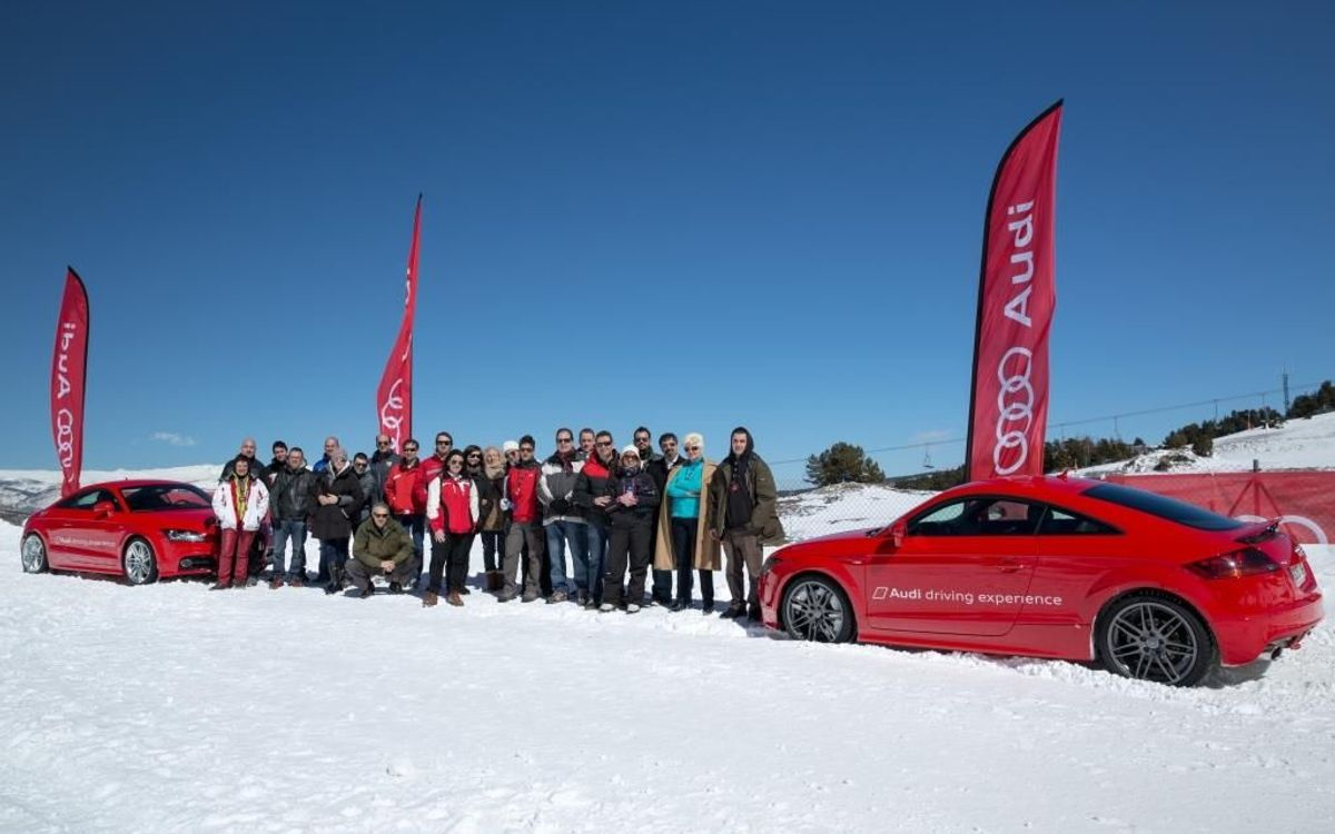 Audi winter driving experience 2013
