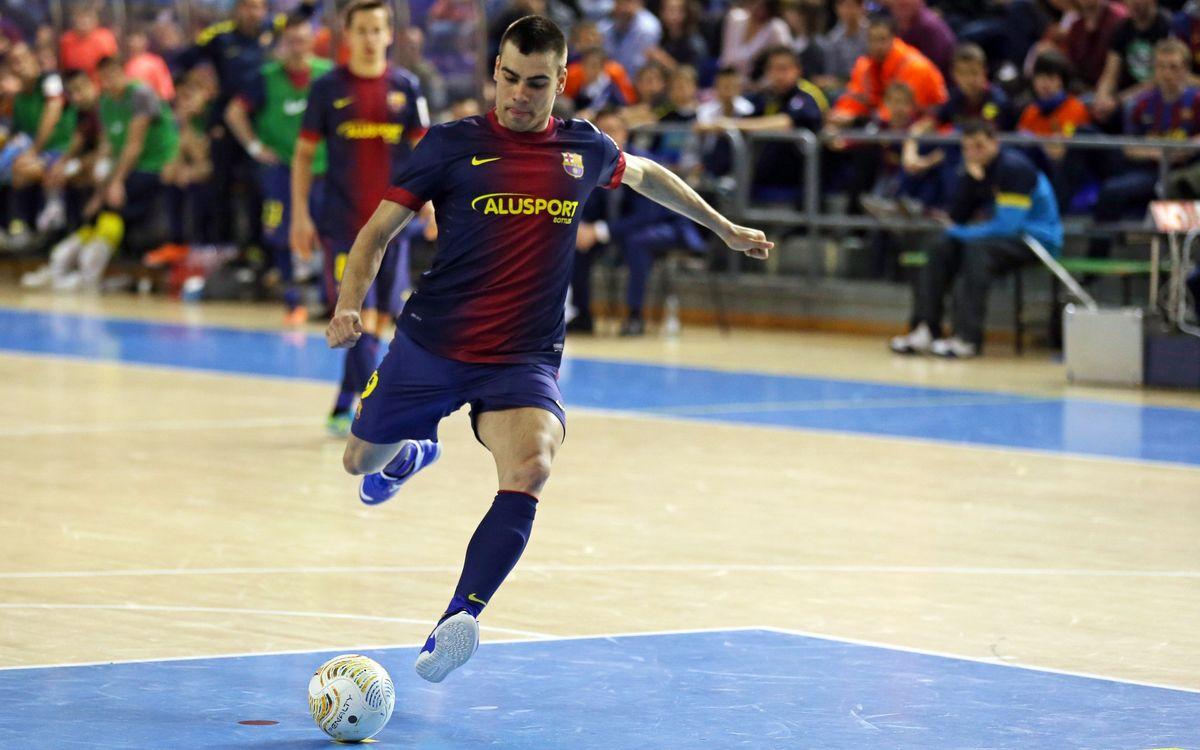 El Barça Alusport enceta a Múrcia un mes trepidant