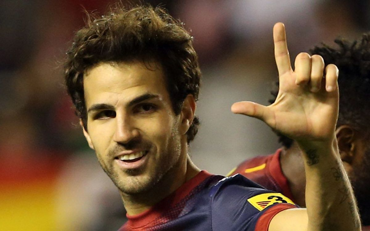 "Cesc: ""I'd be very excited to play against Arsenal"""