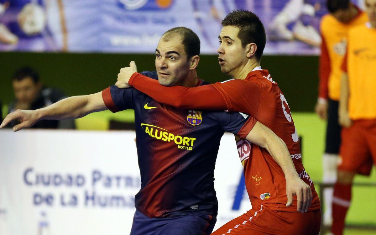 El Barça Alusport jugarà a Múrcia el partit número 13 contra El Pozo en un any i mig