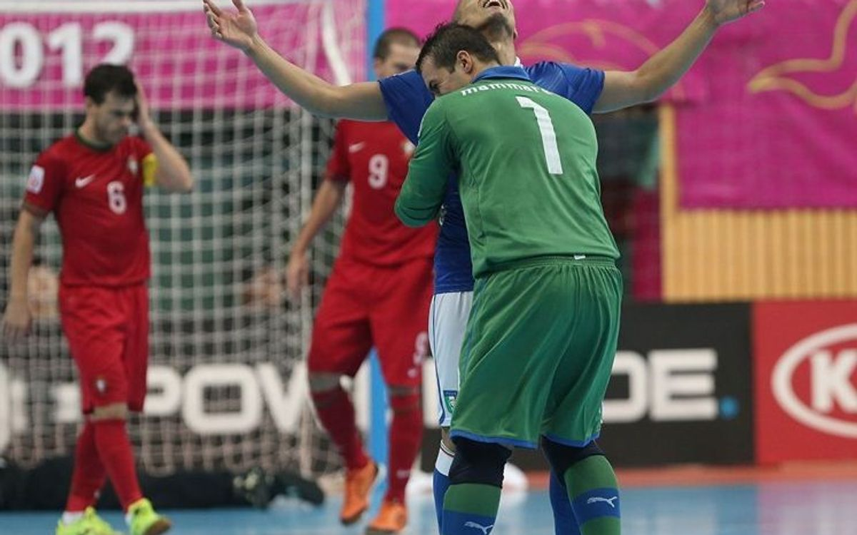 Saad takes Italy to the World Cup semi-finals; set to face Spain