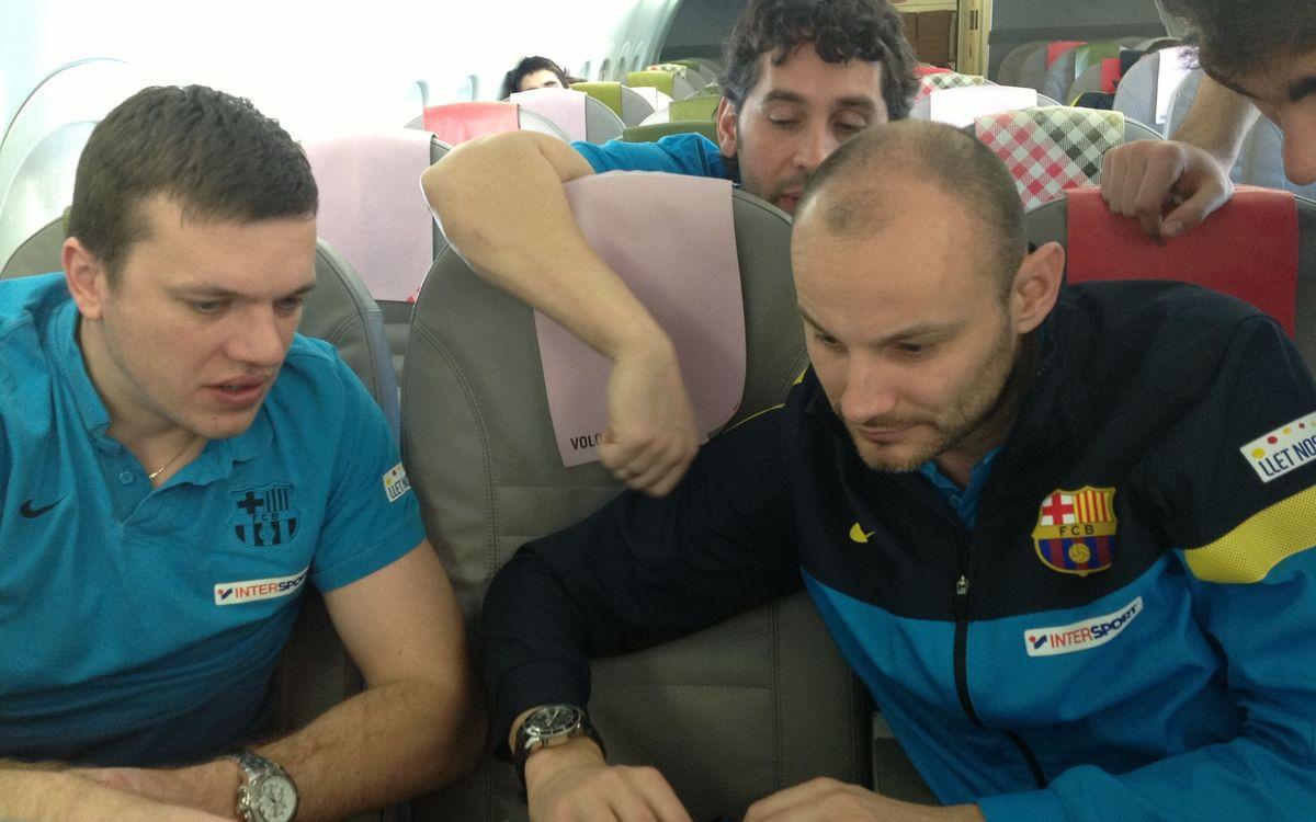 El FC Barcelona d'handbol, 14 anys després a Bielorússia