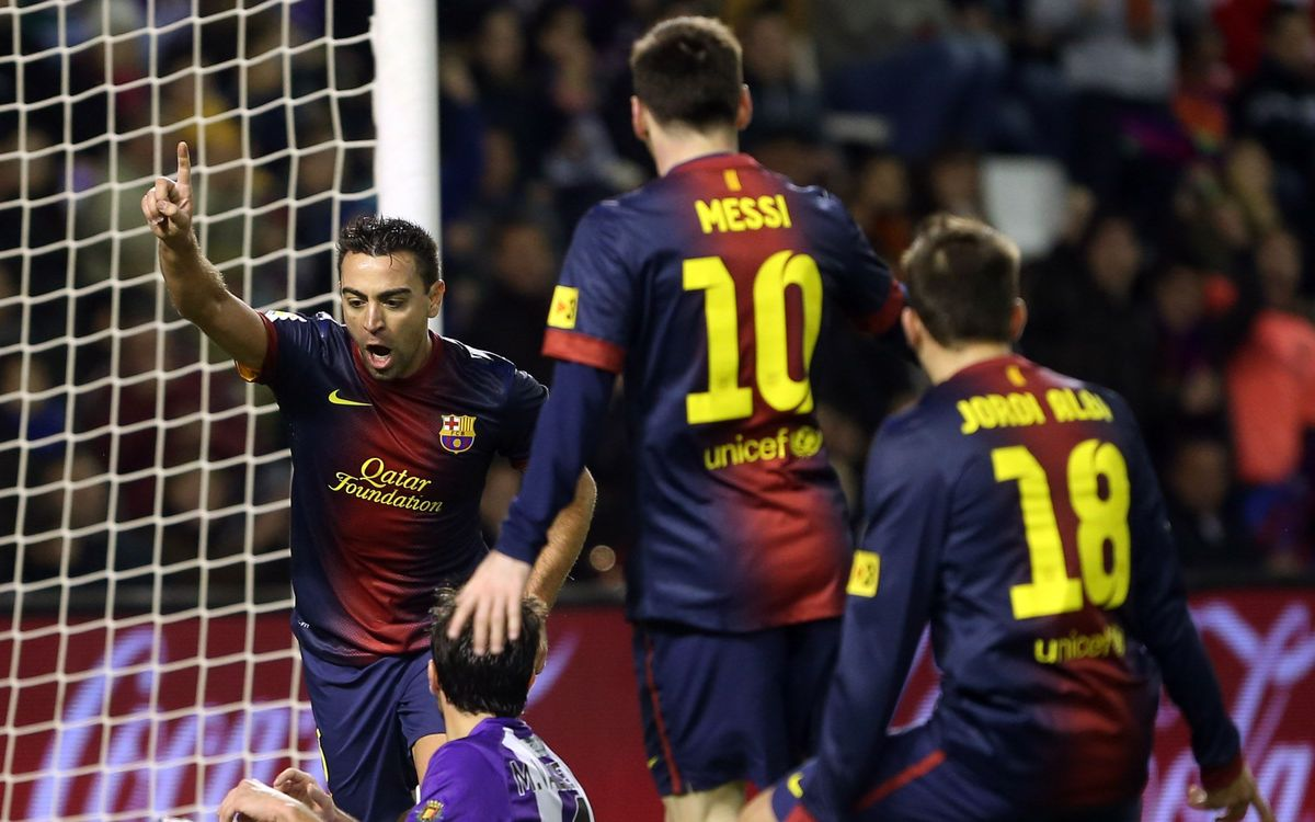 R.Valladolid – FC Barcelona: Courage and football (1-3)