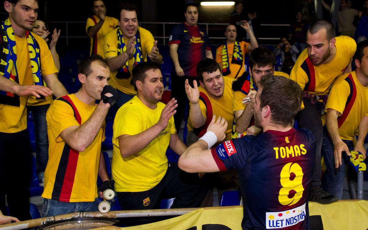 Els rivals de quarts del Barça Intersport, a la Champions d'handbol